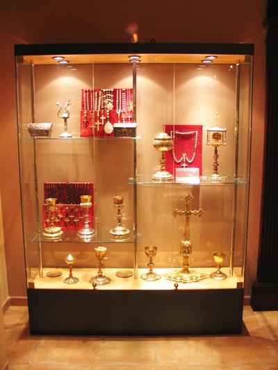 Museo santuari de lluc vislum - Vitrinas de exposicion ...
