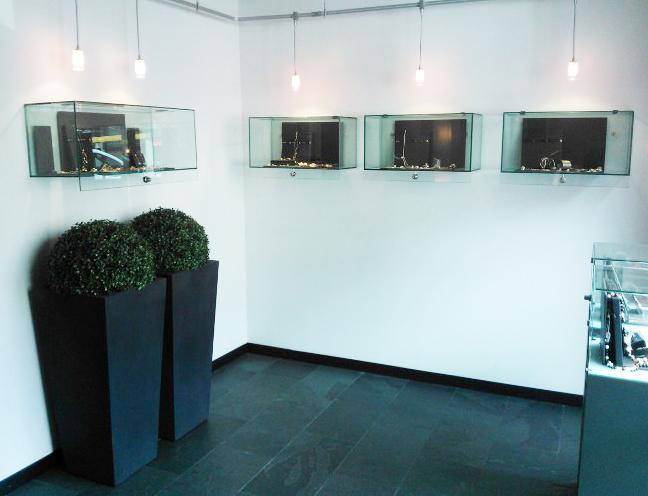 Vitrinas de exposicion elegant vitrinas altura cm vidrio - Vitrinas de exposicion ...
